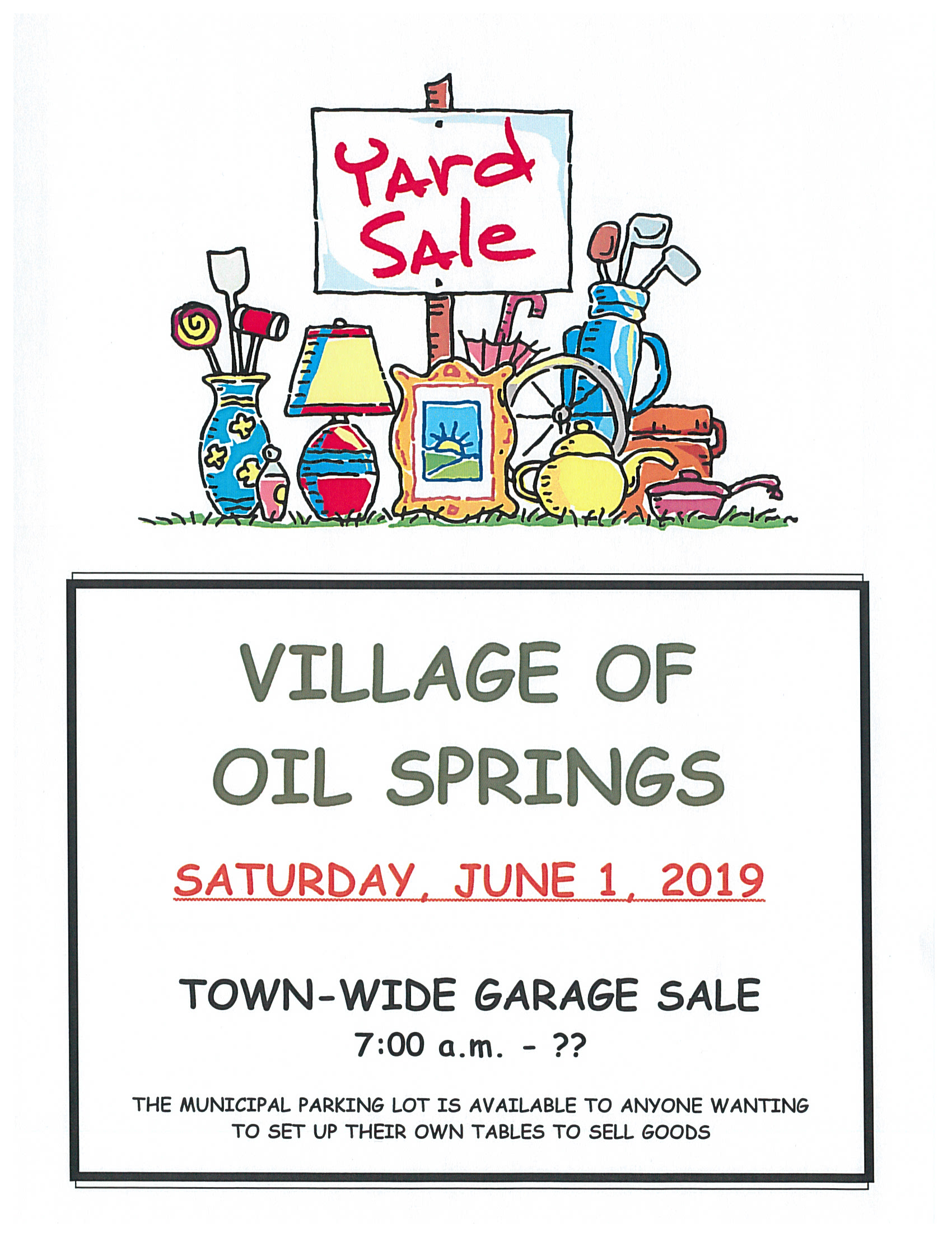Town-wide Garage sales