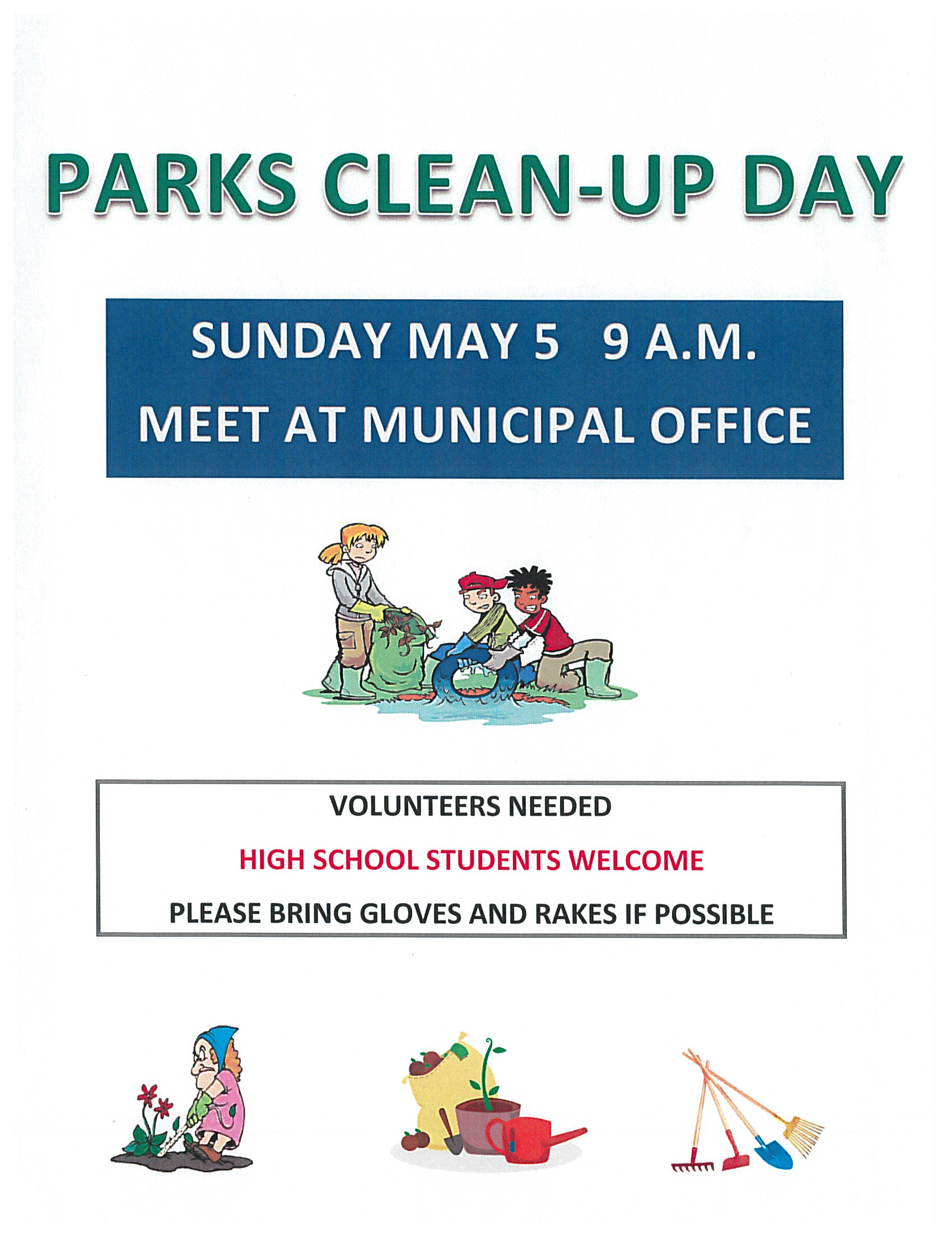 Parks Clean-up Day
