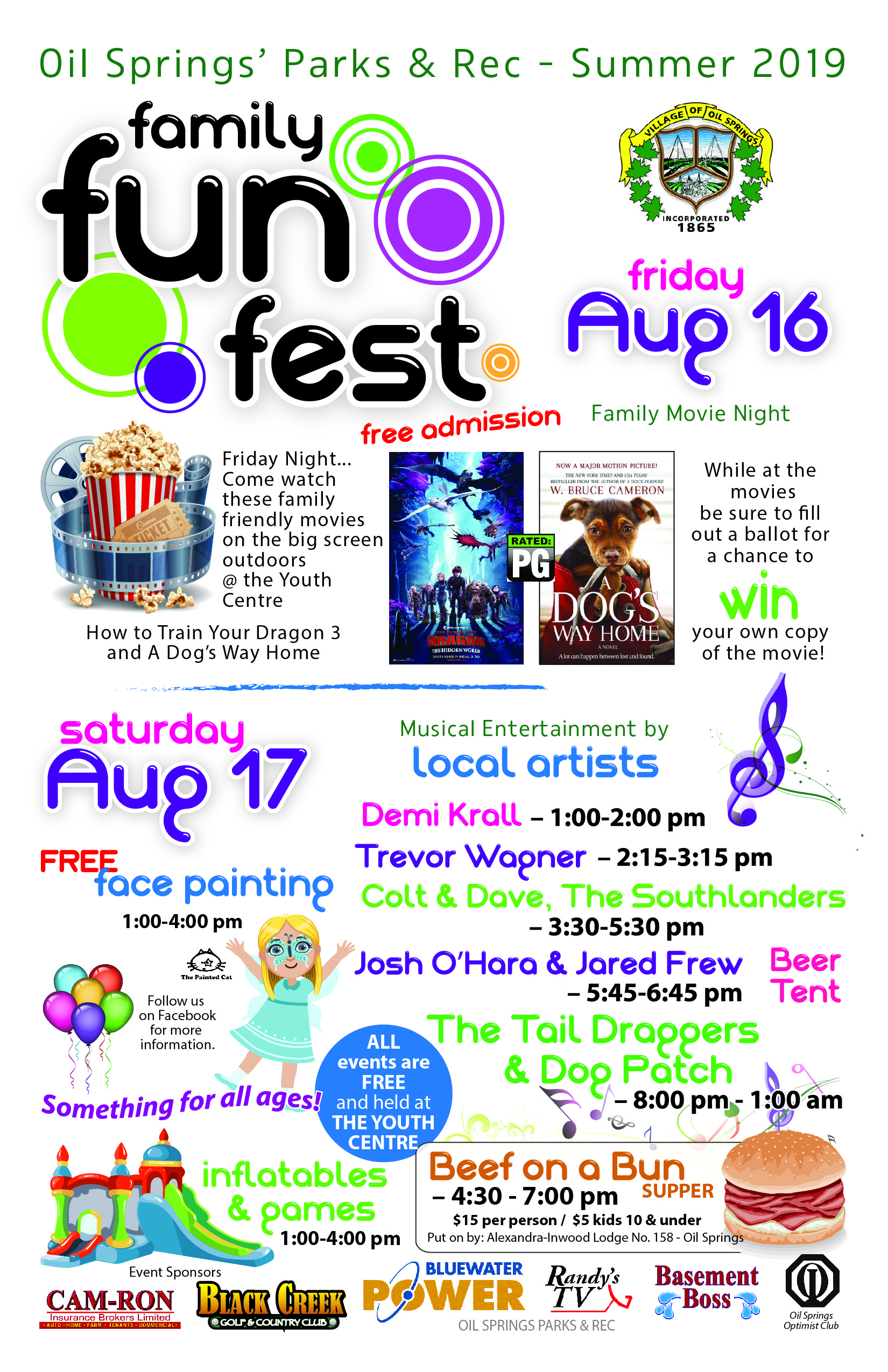 Family Fun Fest @ Youth Centre & Grounds